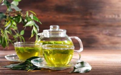 Flu Season Restful Honeysuckle & Mint Green Tea